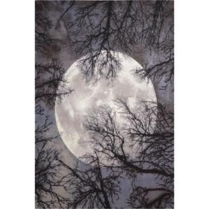 "Nourison Twilight 5'6"" x 8' Moon Area Rug"