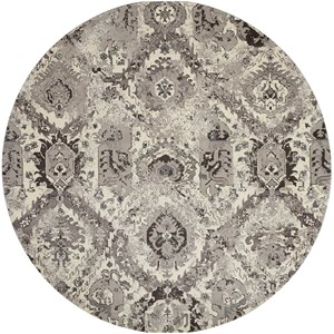 Nourison Twilight1 8' X 8' Iv/Grey Rug