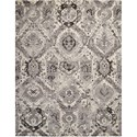 "Nourison Twilight1 9'9"" X 13'9"" Iv/Grey Rug - Item Number: TWI03 IVGRY 99X139"