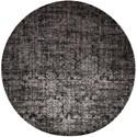Nourison Twilight1 8' X 8' Onyx Rug - Item Number: TWI04 ONYX 8X8