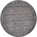 Nourison Twilight1 8' X 8' Slate Rug - Item Number: TWI05 SLT 8X8