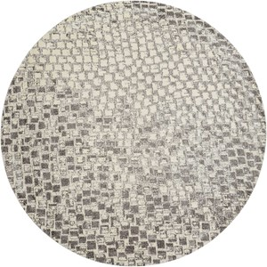 Nourison Twilight1 8' X 8' Cream Rug