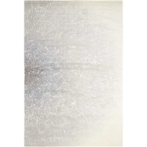 "Nourison Twilight1 2'3"" X 3' Iv/Grey Rug"