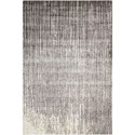 "Nourison Twilight1 5'6"" X 8' Smoke Rug - Item Number: TWI14 SMOKE 56X8"