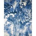 "Nourison Twilight1 5'6"" X 8' Blue/Ivory Rug - Item Number: TWI24 BLUIV 56X8"