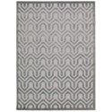 """Nourison Ultima 7'6"""" x 9'6"""" Silver Grey Rectangle Rug - Item Number: UL316 SILGY 76X96"""