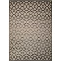 "Nourison Ultima 5'3"" x 7'3"" Silver Grey Rectangle Rug - Item Number: UL392 SILGY 53X73"