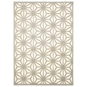 "Nourison Ultima 7'9"" x 10'10"" Ivory/Silver Rectangle Rug - Item Number: UL631 IVSIL 79X1010"