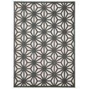 "Nourison Ultima 5'3"" x 7'3"" Silver Grey Rectangle Rug - Item Number: UL631 SILGY 53X73"