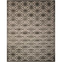 "Nourison Ultima 7'9"" x 10'10"" Silver Grey Rectangle Rug - Item Number: UL631 SILGY 79X1010"