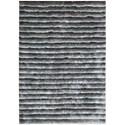 Nourison Urban Safari 8' x 10' Chinchilla Rectangle Rug - Item Number: URBA1 CHINC 8X10