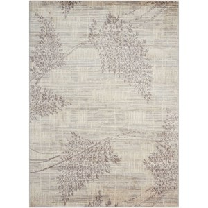 "Nourison Utopia 9'6"" x 13' Champagne Rectangle Rug"