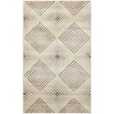 "Nourison Utopia 2'6"" x 4'2"" Champagne Rectangle Rug - Item Number: UTP08 CHAMP 26X42"