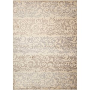 "Nourison Utopia 7'9"" x 10'10"" Ivory Rectangle Rug"