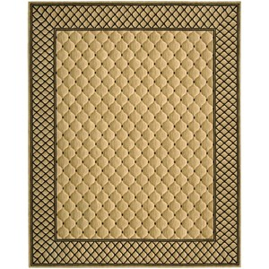 "Nourison Vallencierre 8'3"" x 11'3"" Beige Rectangle Rug"