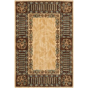 2' x 3' Beige Rectangle Rug
