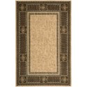 "Nourison Vallencierre 5'3"" x 8'3"" Beige Rectangle Rug - Item Number: VA27 BGE 53X83"