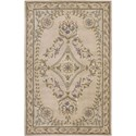 "Nourison Versailles Palace 3'6"" x 5'6"" Beige Area Rug - Item Number: 26116"