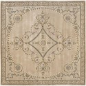 Nourison Versailles Palace 8' x 8' Beige Area Rug - Item Number: 26152