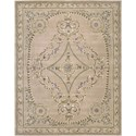 "Nourison Versailles Palace 7'6"" x 9'6"" Beige Area Rug - Item Number: 26179"