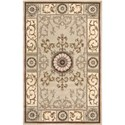 "Nourison Versailles Palace 3'6"" x 5'6"" Beige Area Rug - Item Number: 28689"