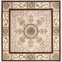 Nourison Versailles Palace 8' x 8' Beige Area Rug - Item Number: 28725