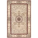 "Nourison Versailles Palace 9'6"" x 13'6"" Beige Area Rug - Item Number: 28734"