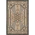 "Nourison Versailles Palace 3'6"" x 5'6"" Beige Area Rug - Item Number: 77921"