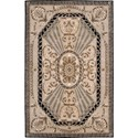 "Nourison Versailles Palace 5'3"" x 8'3"" Beige Area Rug - Item Number: 77957"