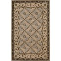 "Nourison Versailles Palace 5'3"" x 8'3"" Beige Area Rug - Item Number: 77966"