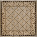 Nourison Versailles Palace 8' x 8' Beige Area Rug - Item Number: 78110