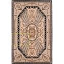 Nourison Versailles Palace 8' x 11' Beige Rectangle Rug - Item Number: VP03 BGE 8X11