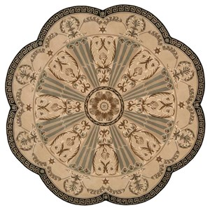 Nourison Versailles Palace 8' x 8' Beige Free Form Rug