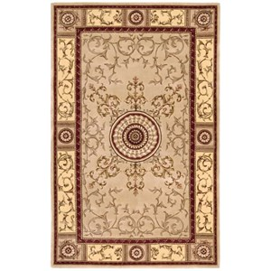 "Nourison Versailles Palace 5'3"" x 8'3"" Beige Rectangle Rug"