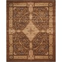 "Nourison Versailles Palace 5'3"" x 8'3"" Mushroom Rectangle Rug - Item Number: VP05 MSH 53X83"