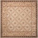 Nourison Versailles Palace 8' x 8' Beige Square Rug - Item Number: VP06 BGE 8X8