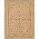 Nourison Versailles Palace 8' x 11' Beige Rectangle Rug - Item Number: VP07 BGE 8X11