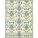 Nourison Vista 5' x 7' Ivory Area Rug - Item Number: 13781