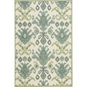 Nourison Vista 4' x 6' Ivory Area Rug - Item Number: 13782