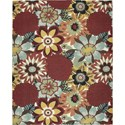 Nourison Vista 8' x 10' Multicolor Area Rug - Item Number: 13814