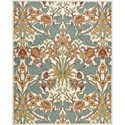 Nourison Vista 8' x 10' Ivory Area Rug - Item Number: 13815