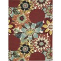 Nourison Vista 5' x 7' Multicolor Area Rug - Item Number: 13817