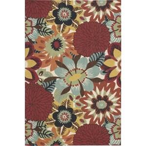 Nourison Vista 4' x 6' Multicolor Area Rug