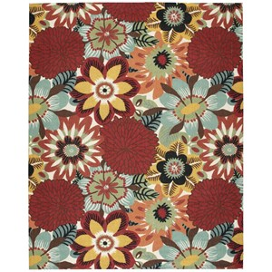 Nourison Vista 8' x 10' Multicolor Rectangle Rug