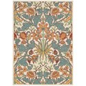 Nourison Vista 5' x 7' Ivory Rectangle Rug - Item Number: VIS58 IV 5X7