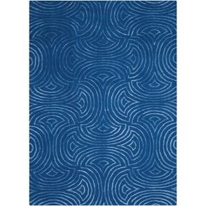 Nourison Vita 5' X 7' Blue Rug