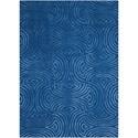 Nourison Vita 8' X 10' Blue Rug - Item Number: VIT11 BLUE 8X10