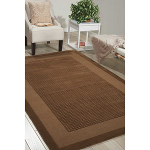 "Nourison Westport 8' x 10'6"" Mocha Rectangle Rug"