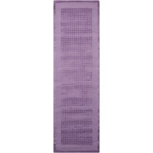 "Nourison Westport 2'3"" x 7'6"" Purple Runner Rug"