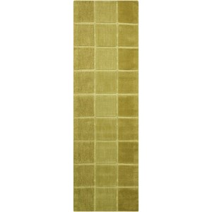 "Nourison Westport 2'3"" x 7'6"" Green Runner Rug"